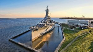 Mobile, Alabama USS Alabama battleship