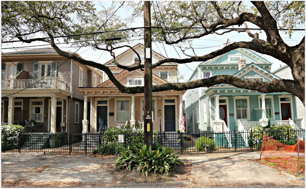 Uptown New-Orleans, Louisiana homes