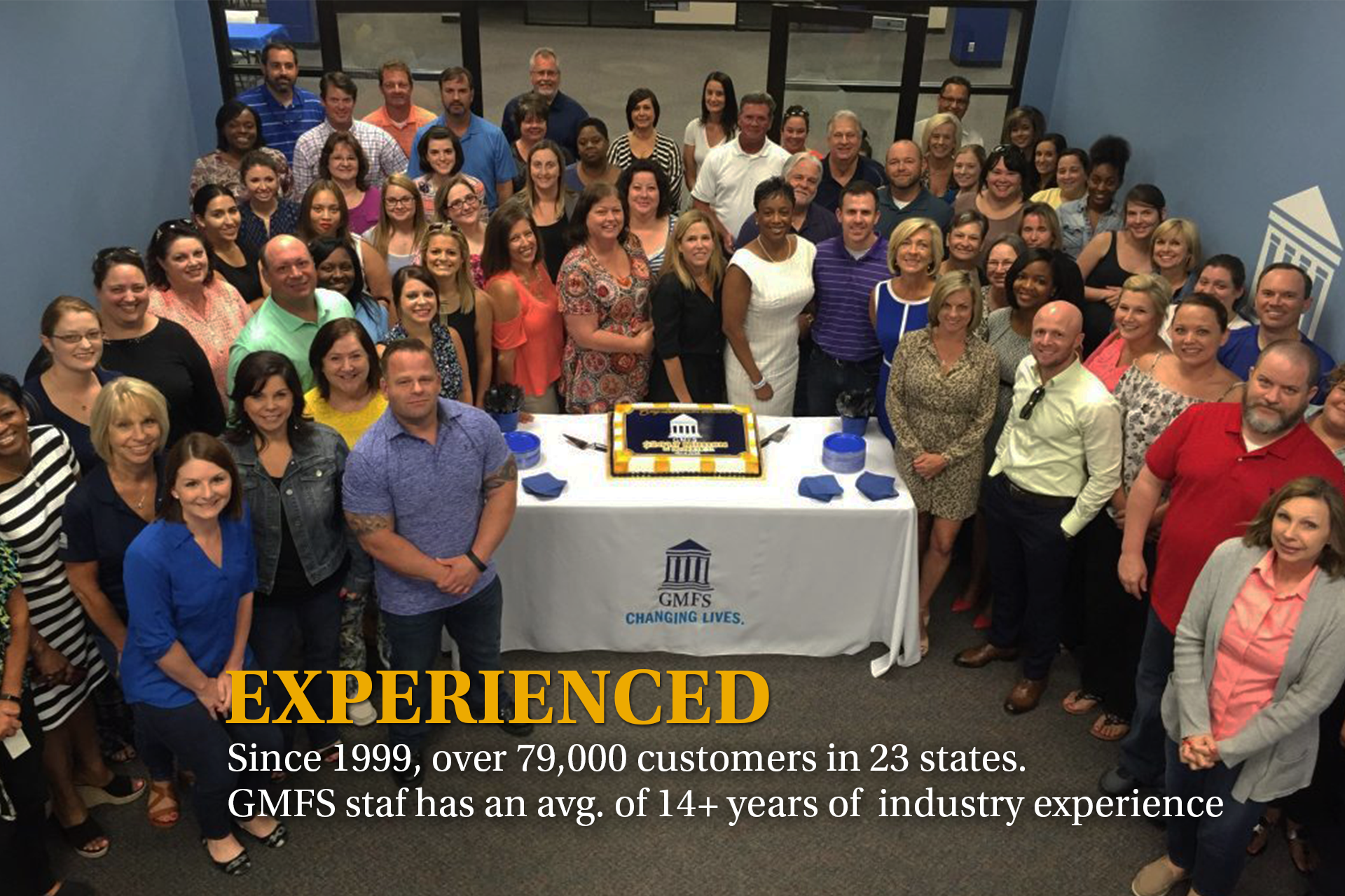 Banner GMFS Employees Celebrate Milestone 1920w