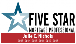 Five Star Mortgage Professional Award - Julie Nichols of GMFS Mortgage - Frisco, Texas