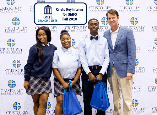 Cristo Rey Student Interns for GMFS - Fall 2018