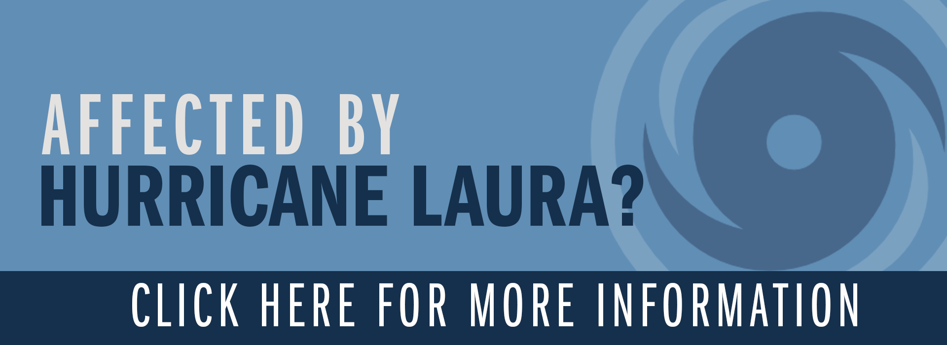 hurricane laura mortgage disaster help