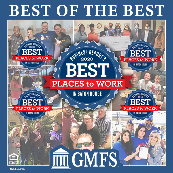 gmfs best places to work baton rouge business report 2020