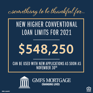 new conventional loan limits 2021