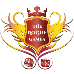 The Rogue Games Logo geaux local