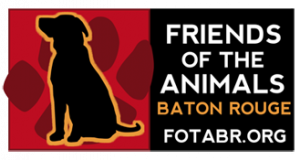 friends of the animals logo geaux local