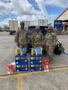 hurricane ida disaster recovery houma national guard